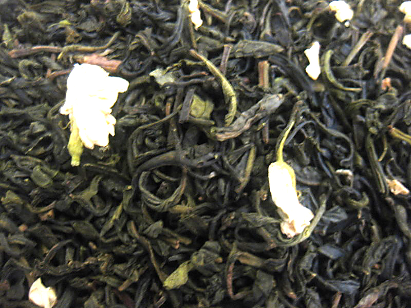Jasmine with Flowers Green Tea