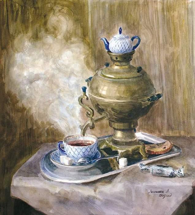Лесохина Любовь. Горячий чай. Lesohina Lyubov