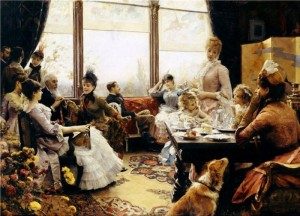 Five O'Clock Tea by Julius LeBlanc Stewart